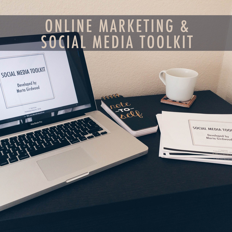 Social Media Toolkit by Marta Girdwood